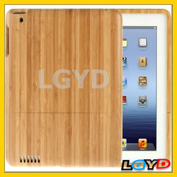 Funky Detachable Bamboo Material Case for iPad 4