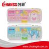 Heat Transfer Print Plastic Pencil Box CS-3060