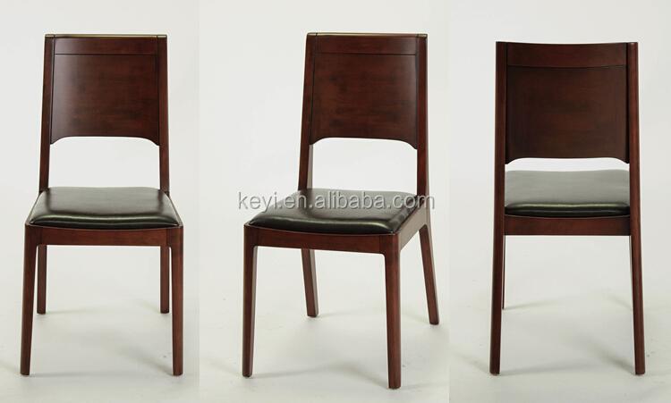 Estilo americano moderno diseño minimalista de madera silla de ...
