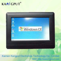 """7"""" Mini Touch PC with RS232,WIFI&GPS optional for bank, restaurant,hotel use etc"""