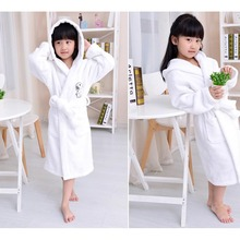 Wholesale Children Hooded Bunny Bathrobe /carton bathrobes