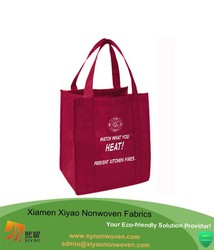 Reusable shopping/grocery bag -nonwoven shopping bag - reinforced bottom