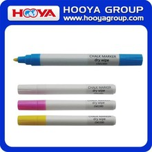 2015 Hot Selling Eco-friendly Medium Size Erasable Chalk Marker Dry Wipe Liquid Chalk Marker Pen