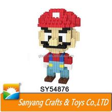 Hot sale toys mario figure loz Nano blocks for kids