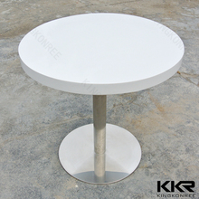 KKR restaurant furniture round study table and chair compact dinning table