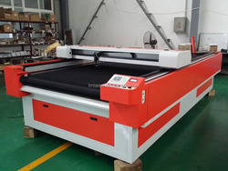 TMJG-1630 co2 laser engraving and cutting machine fabric cutting machine garment machine price