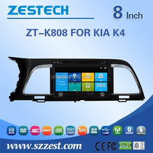 2 din car radio with gps china auto steering wheel for KIA K4 MOQ 50PC support phoneconnect usb/sd mp3 mp4