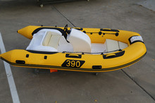 rigid inflatable hypalon sport rib boat Or Fishing boat RIB390C with CE