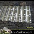 láminas para techos del azulejo efecto ondulado