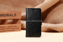 Low price classical pu case logo for samsung galaxy s5