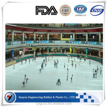 Synthetic UHMWPE Ice Skating Boards ,UPE Ice Ringk Fence Available With Plastic Shelf And Parts