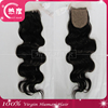 2015 New products brazilian hair closure virgin hair bundles with lace closure Aliexpress cheap human hair lace closure