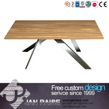 Modern design dining table manufacture wood