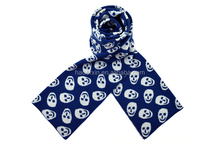 Thin long soft acrylic men european knitting pattern scarf
