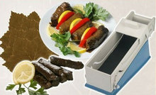 Turkish Stuffed Grape Leaf Rolling,Dolma,Sarma Machine,Spring Rolls,Cabbage,Vine