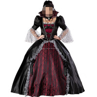 Luxury lady fancy dress zombie costumes cosplay Halloween costumes