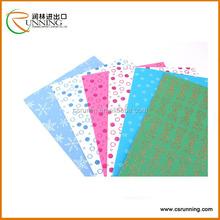 2mm EVA foam sheet china manufacture glitter printed eva
