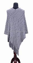 2015New style cachemire tricoté poncho pour les femmes
