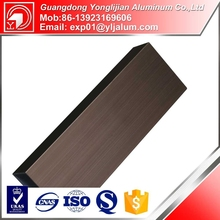 China 2015 hot sale high quality 40x40 industrial aluminium hollow profile