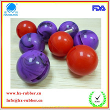Dongguan Professional manufacture of hollow rubber ball