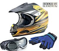 ECE R22.05 Open Face Motocross Helmet