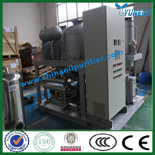 YNZSY used oil refinery machine, Used hydraulic oil from ship company, change color to yellow