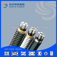 2015 Sinyu Kinds of XLPE Insulated Low voltage Auluminum Alloy Power Cable with CE