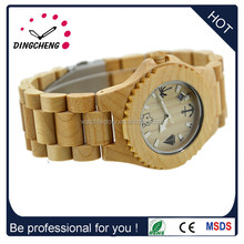 Alibaba China High quality and fast delivery time 100% natural sandalwood/maple wood/bamboo wood watch With Custom Logo