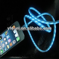 Mini USB EL Neon Charge Cable el usb charger micro usb cable flexible light usn cable