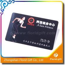 Palestra tessera di plastica/plastica carte in custom