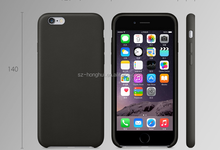 For Apple iphone 6 genuine Leather protective case phone leather case HH-CPI6031(5)