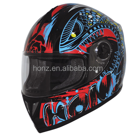Bright UV painting DOT ECE unique motorcycle helmet cross gear