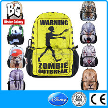 BBP117 skull pattern fashion unisex lightweight bag