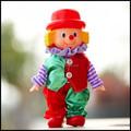 Plástico mini brinquedos de palhaço, custom palhaço figuras, palhaço bonito figuras