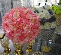 Wholesale Pink Round Flower Ball Centerpiece