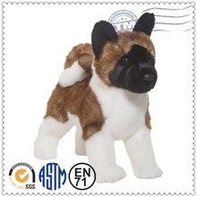 High quality cute and lifelike stuffed plush dog stuffed toys