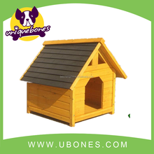 1pc strong durable wooden dog house made with fir wood dog house pet kneel retail