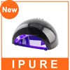 2015 fashion portable 12w uv nail lamp, led nail lamp with autosensor CE & ROHS approved