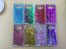 cheap price waterproof glitter moving star liquid mobile phone case for samsung galaxy A5