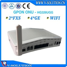 4GE Ethernet Wireless GPON ONT Supported IP TV , Set Top Box, Video Phone