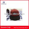 herringbone tweed fabric 5 panel snapback hats
