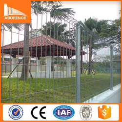 Hot Dipped Galvanized BRC Fence / BRC boundary fence / roll top fence (factory direct selling)