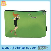 JSMART photo bag digital printing microfiber cosmetic bag sublimation printing custom printing