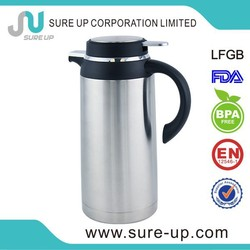 Fashionable outlook 2l bpa free stainless steel high grade vacuum turkish coffee jugs with CE certificate