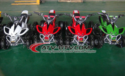 CE Approved Electric Strarter 4 Wheelers 49CC Mini Quad Bikes