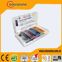 Refill ink cartridge for epson t5852, cartridge with chip for epson t5852 t5846