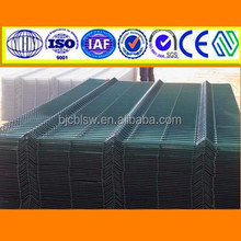 Twisting fence panel fence,PVC wire mesh fence panel