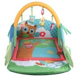 Baby Owl Folding Bed with Pendants