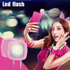 New LED Flash for camera Phone 2016 New Products , Selfie Flash Light Led Cell Phone