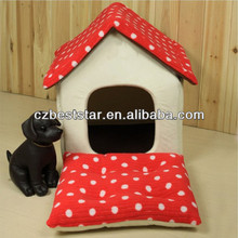 Sponge Fordable Small House Pet Kennel For Dog